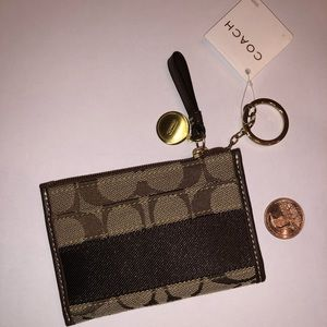 Coach keychain/coin purse